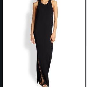 Mikoh Swimwear Mavericks High Neck Maxi Dress
